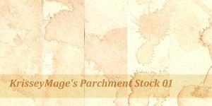 Parchment Stock 01 by KrisseyMage