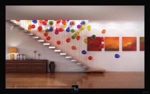 Balloons Lighting Dynamics by ZeroPointPolygon