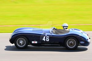 Jaguar C Type No 46 by Willie-J