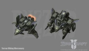 Starcraft 2: Terran Viking + by PhillGonzo
