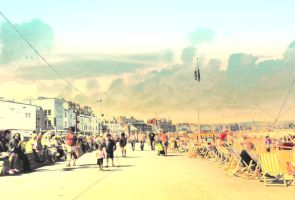 Weymouth sunny summer by krak1977