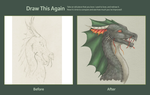 Spiky Dragon, 2010-2012 by Imbecamiel