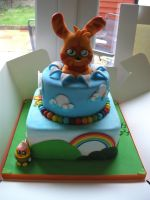 Katsuma Moshi Monster Cake by gertygetsgangster