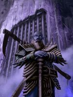 Duergar Gatekeeper for PaizoCon Wayfinder 9 by MichaelJaecks