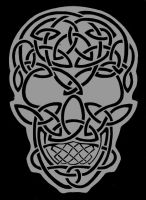Celtic Skull by TheRaevyn13