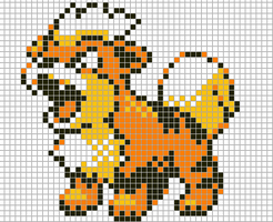 Growlithe by Hama-Girl