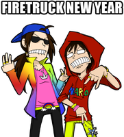 WHAT THE FIRETRUCK by Kame-o
