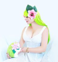 Shaymin Gijinka 06 by HeatherCosplay