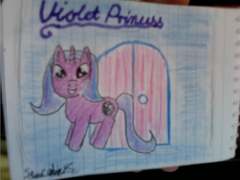 ~Violet Princess Pony OC~ by StarCatcherZ