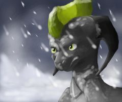 Snow storm remake by Mearow