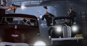 Highway patrol chase delinquents by JuavT