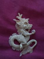 white chinese dragon by Dreamkeeperfae