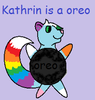 Kathryn is an oreo by Foxlover4218