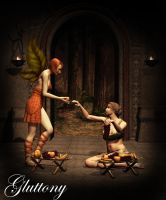 Angels Of Sin - Gluttony by Afina79