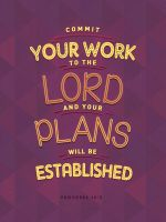 Proverbs - 16:3 by mostpato