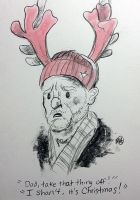 Christmas Card #1 - Wilfred by monkette