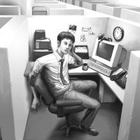 Cubicle 1 by CBSorgeArtworks