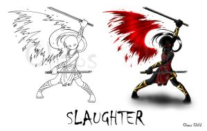 WOF Concept art - Slaughter by Chaos--Child