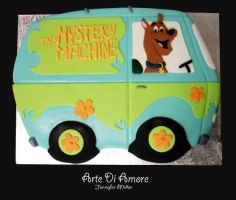 Mystery Machine Cake by ArteDiAmore