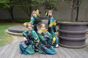 Kyoshi Warriors Cosplay by Link-Zelda48