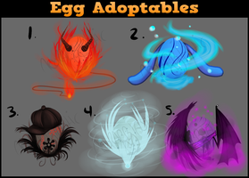 Egg Adoptables- Cash or Points Auction- CLOSED by NeoRabbitastic