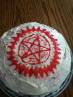 Faustian Cake ^_^ by Shadowkat10