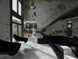 Industrial Loft 03 by thiagomarcondes