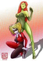 Harley And Ivy by Y0KO