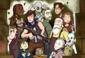 The Walking Dead by Grunnet