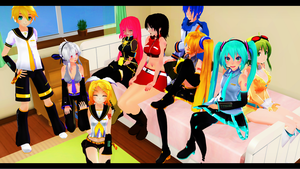 VOCALOID Gathering by sparkel10493
