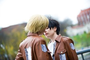 Dark in my imagination. - Eruri by Figgarow