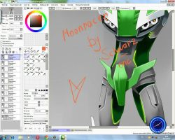 TFP Moonracer process  by Schwarz-one