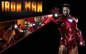 Iron man wallpaper by Nick004