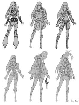 Musketeer Concepts by YBourykina