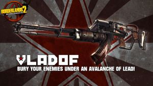 Borderlands 2 Wallpaper - Vladof : Lead Avalanche by mentalmars