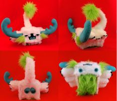 Muki the Custom Mutt Toy by loveandasandwich