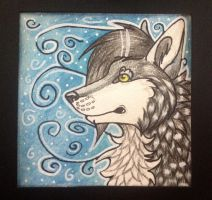 9x9 cm wolf test by NightMagican