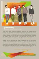 SHINee dA Journal Skin by Viacia