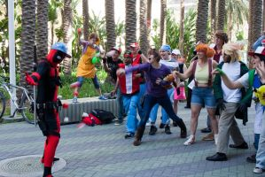 Deadpool getting captured?! by EriTesPhoto