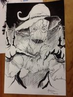 The Scarecrow by NickMockoviak