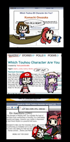 What Kinda Touhoumon Are You? by SuperMario1550