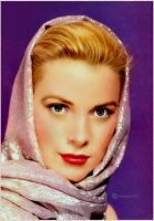 Grace Kelly(Digital Painting) by chamirra