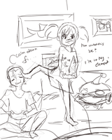 sleep over WIP by ficakes911
