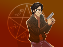 Sam Winchester by pai-draws