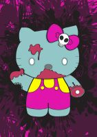 Zombie Hello Kitty by Steve-Nice
