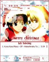 -KKM- YuuRam - Merry Christmas by PromiseBerry