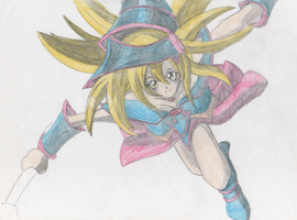 Dark Magician Girl by ManicSam