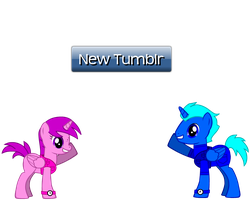 Ask Toran and Violet! (New Tumblr) by magshi
