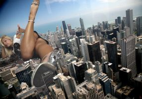 Jenni Lying on Chicago by JRGTS
