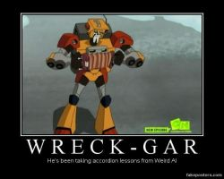 Wreck-Gar Accordion by Onikage108